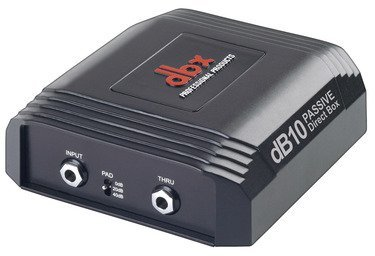 【4月優惠】DBX db10 Passive Direct Box