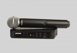 Shure BLX24/SM58 手持式無線系統