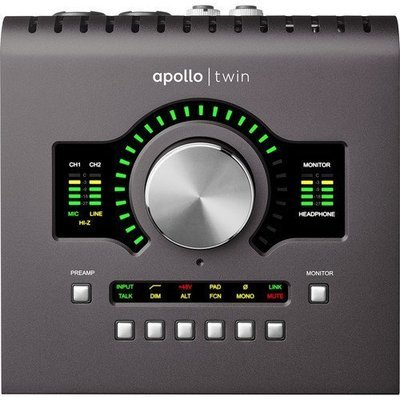 Universal Audio Apollo Twin MKII (thunderbolt) interface