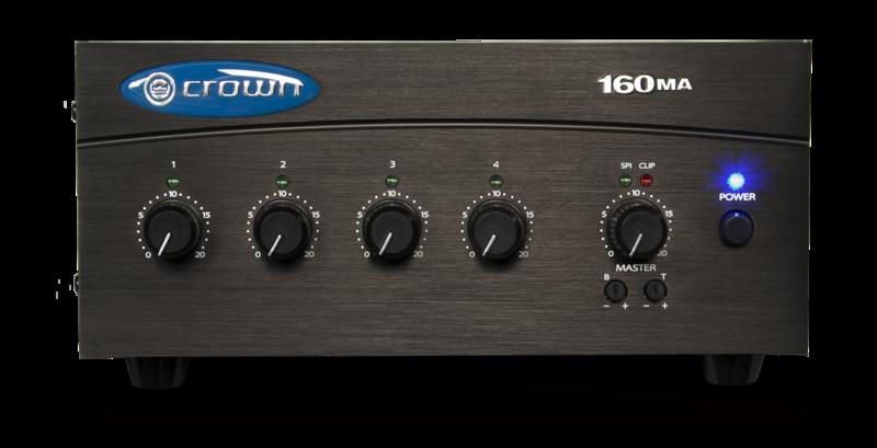 Crown Audio 160MA power amplifier 01286