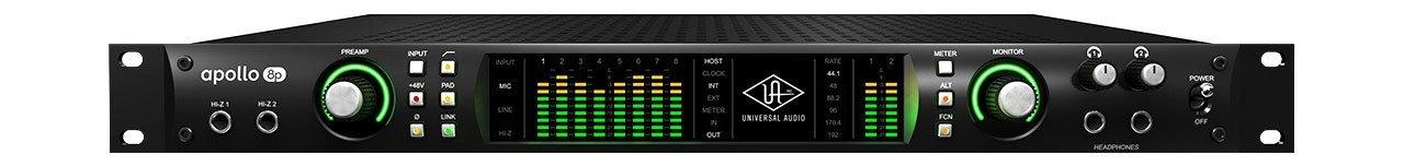 Universal Audio Apollo 8p (18x24 Thunderbolt 2 Audio Interface with UAD DSP)