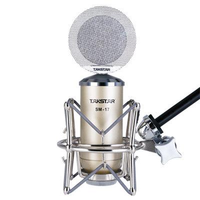 Takstar SM-17 recording microphone