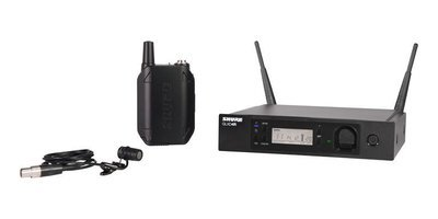 Shure GLXD14R/85 Lavalier Wireless System (2.4Ghz digital)