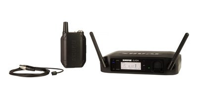 Shure GLXD14/93 Lavalier Wireless System (2.4Ghz)