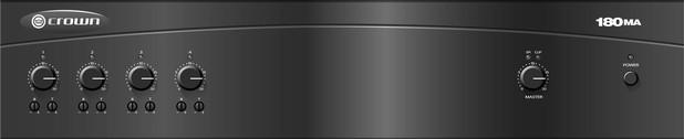 Crown amplifier 180MA 00049