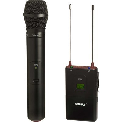 Shure FP25/VP68 拍攝收音套裝 with handheld wireless microphone
