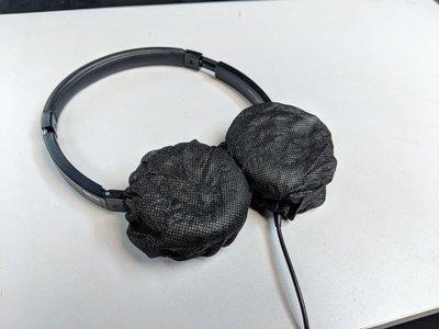 即棄耳機套 (disposable cover for headphones)