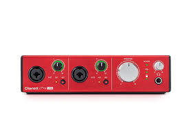 Focusrite CLARETT 2PRE USB audio interface 電腦錄音界面