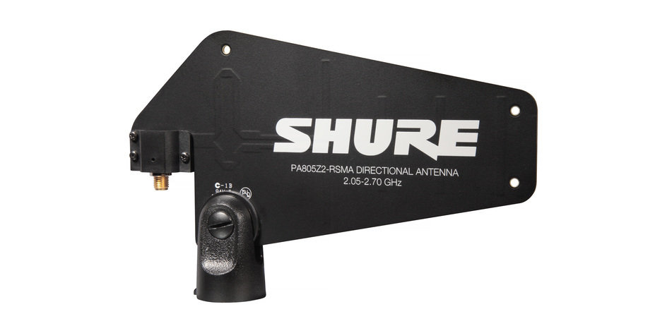 Shure PA805Z2-RSMA Passive Directional Antenna (For GLXD Advanced systems)