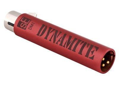 sE Electroncis DM-1 Dynamite microphone preamp