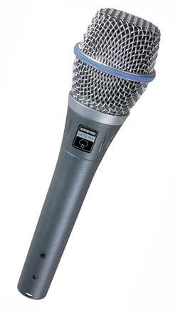 【3月優惠】Shure BETA 87C 人聲話筒 vocal microphone , 連 3米 Canare cable