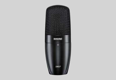 Shure SM27 Professional Large Diaphragm Condenser Microphone