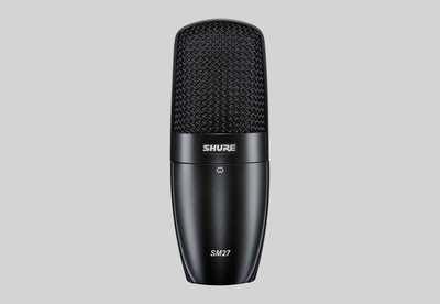 Shure SM27 Professional Large Diaphragm Condenser Microphone