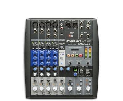 Presonus StudioLive® AR8 8 channel USB mixer