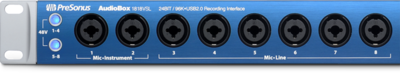 PreSonus AudioBox 1818VSL (USB 2.0 recording system)