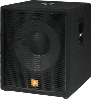 JBL JRX118SP 18″ powered subwoofer