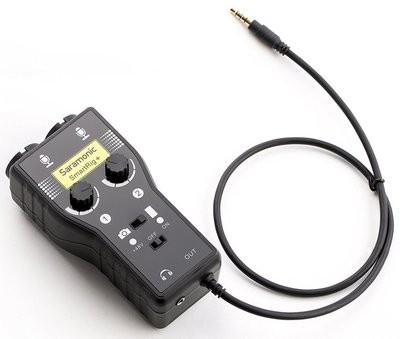 Saramonic SmartRig+  (portable microphone/guitar interface)
