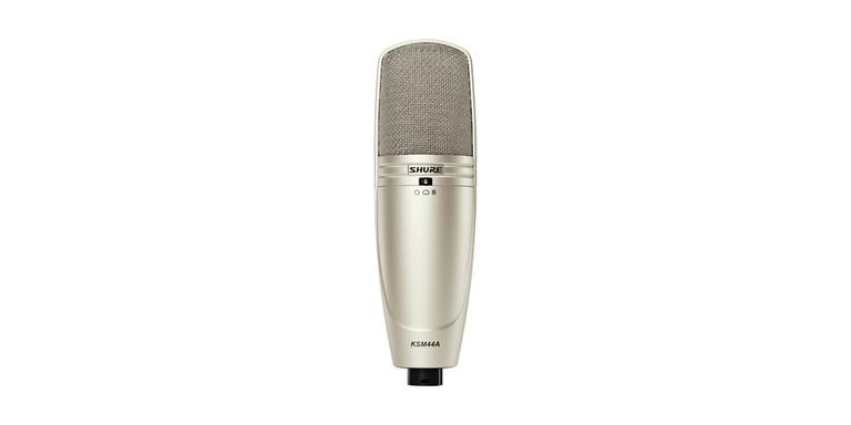 Shure KSM44A Multi-Pattern Dual Diaphragm Microphone