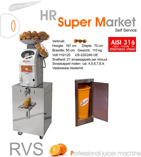 BORG Citruspers Oranfresh Type HR 5 Supermarket