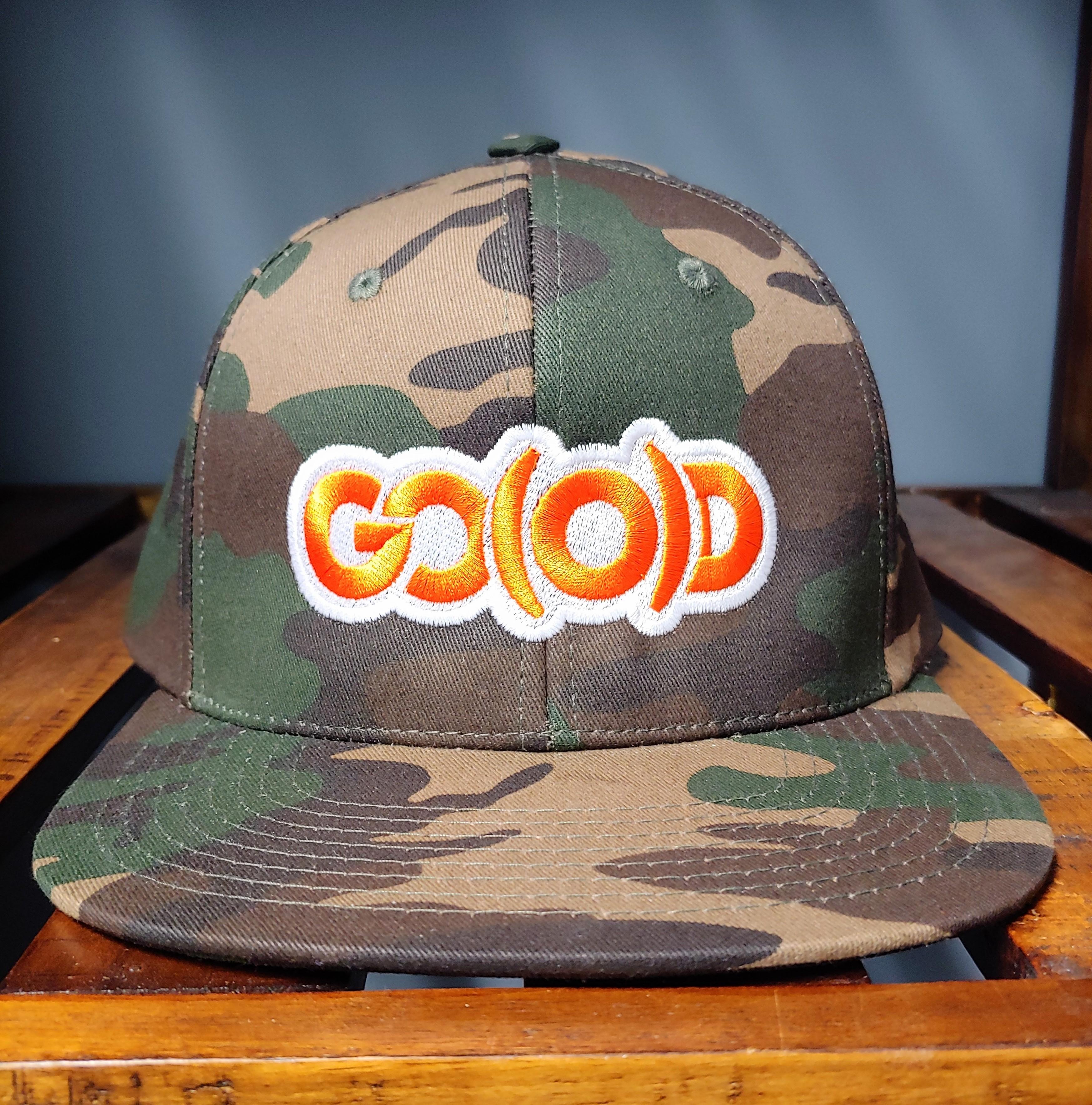 GO(O)D Camo Snapback 00202
