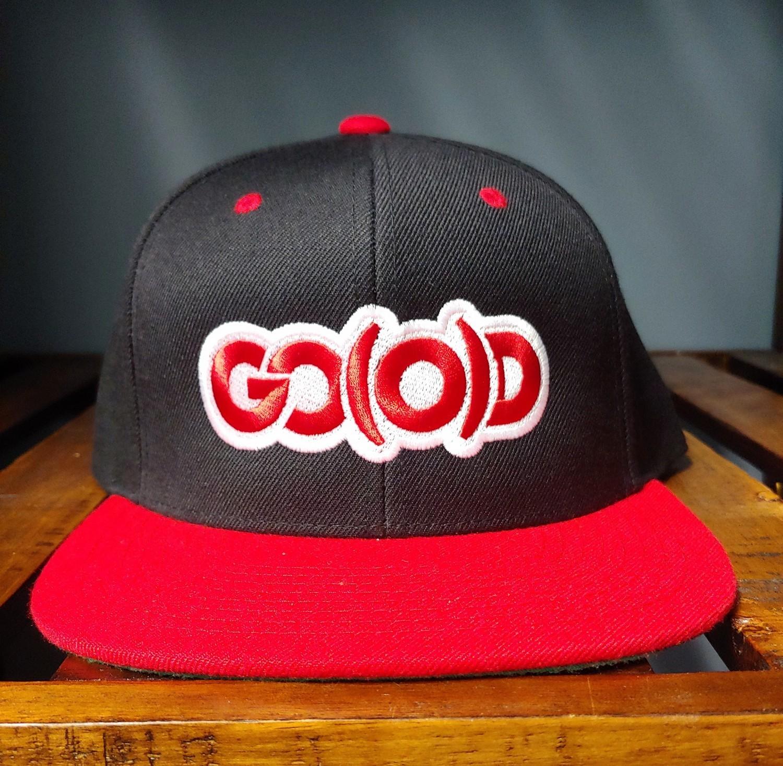 GO(O)D Snapback-black/red/white