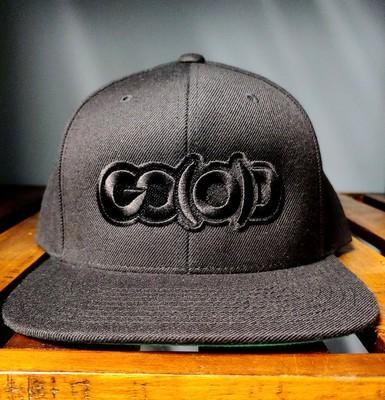 GO(O)D Snapback-black/black