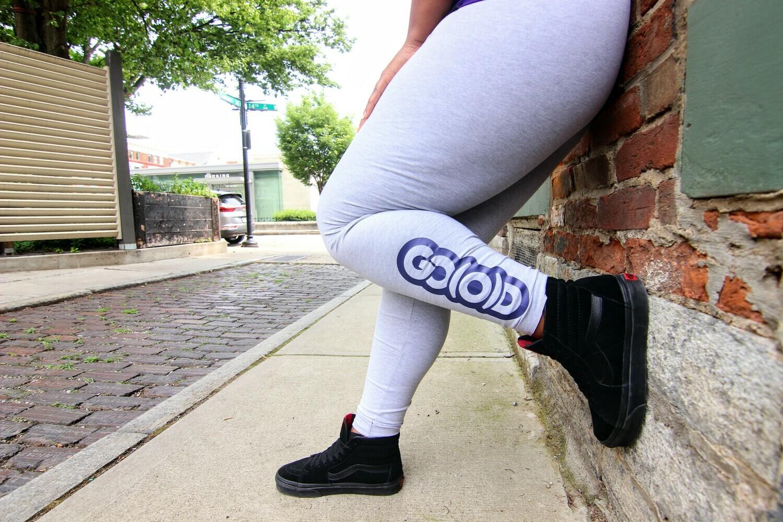 GO(O)D Leggings-gray/purple
