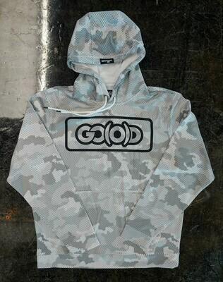GO(O)D Camo-Hexi Inbox Hoodie-white/gray/black