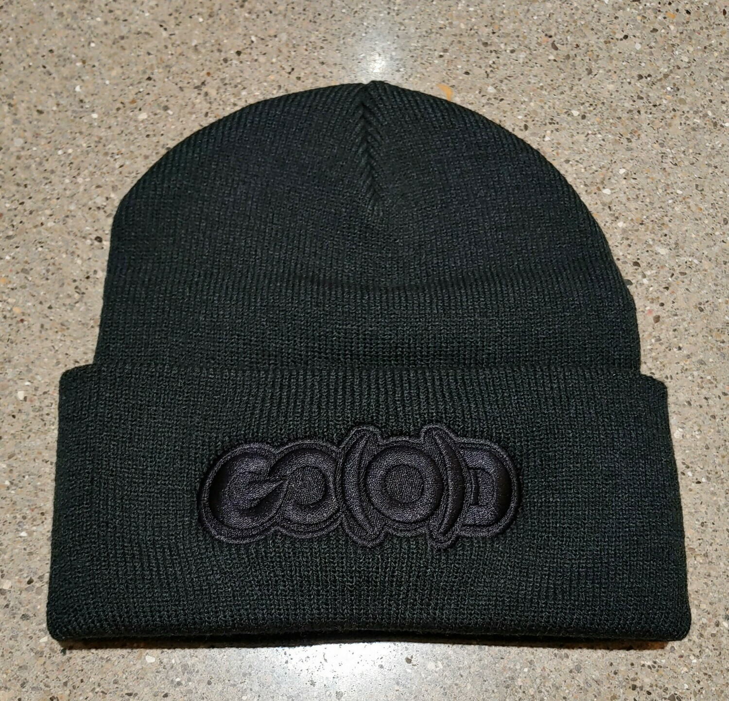 *SOLD OUT* GO(O)D Beanie-black/black