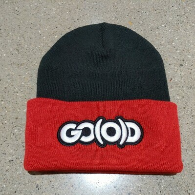 GO(O)D Beanie-black/red/white