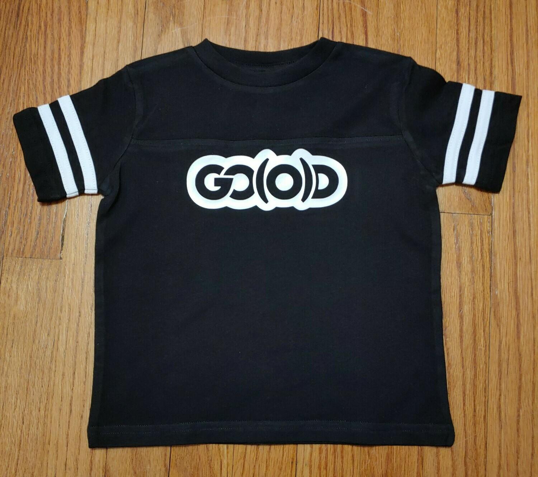 GO(O)D Toddler Fine Jersey Tee-black/white