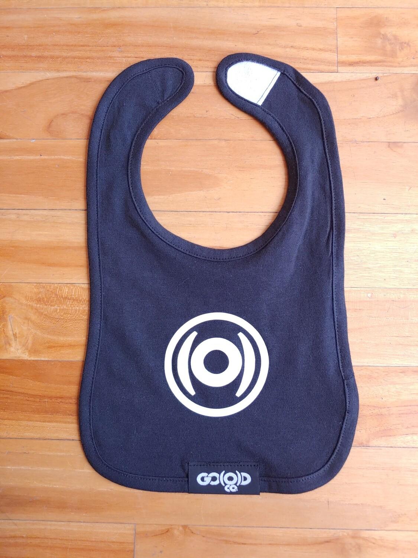 GO(O)D Bib-black/white logo