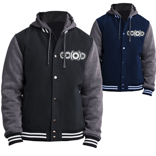 GO(O)D varsity Coat with detachable hood - Men's 0012
