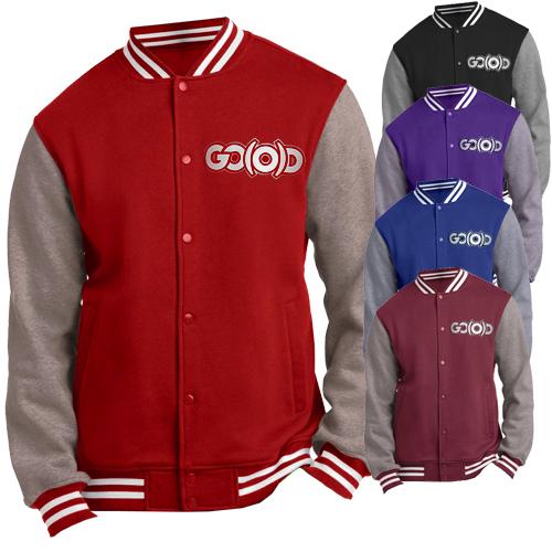 GO(O)D Varsity Jacket - Men's 00019