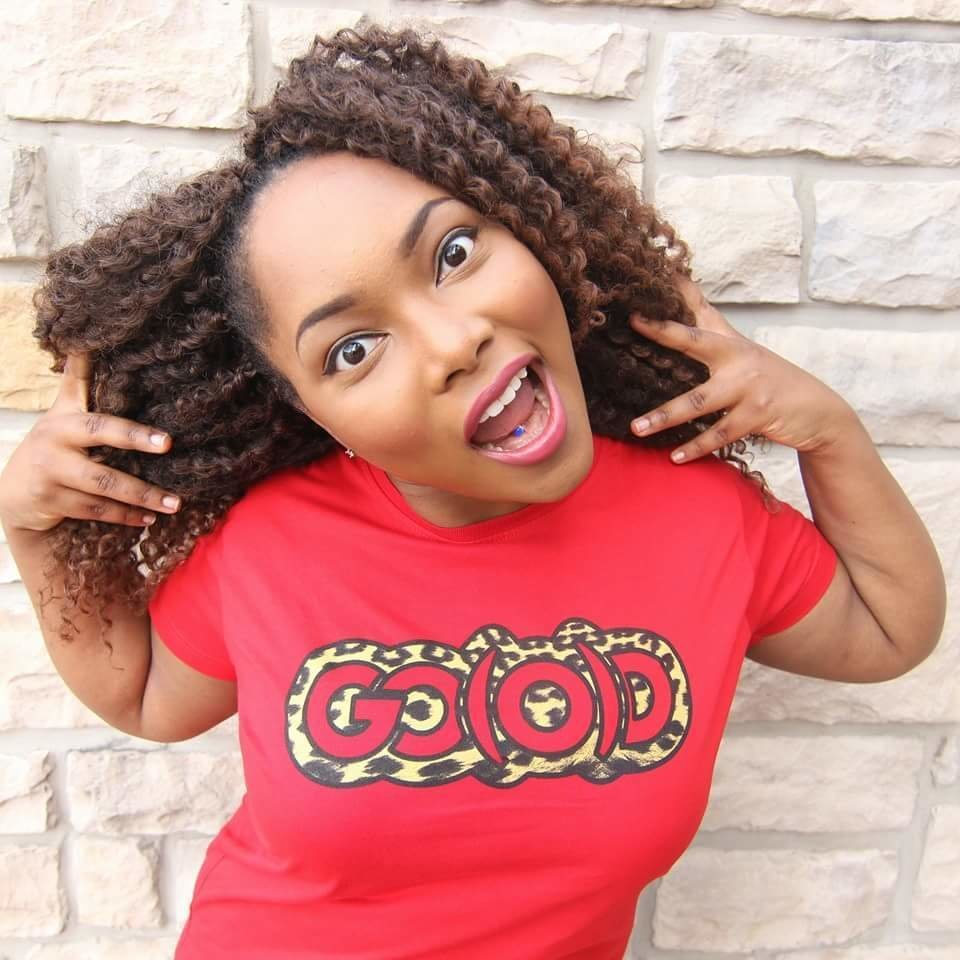 GO(O)D Leopard tee-red