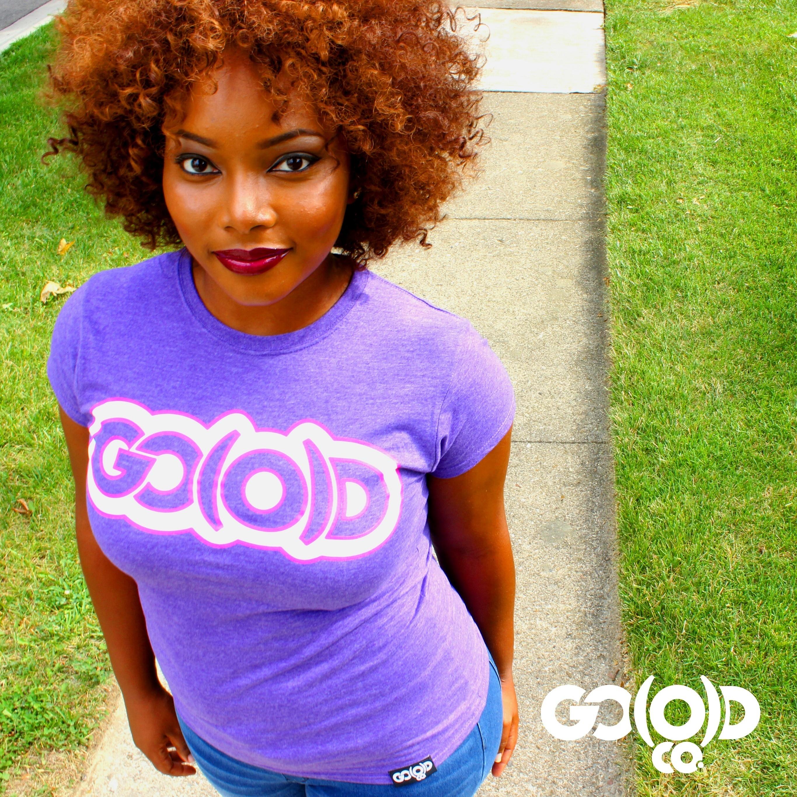 GO(O)D - Purple/White w/Pink Trim 00044