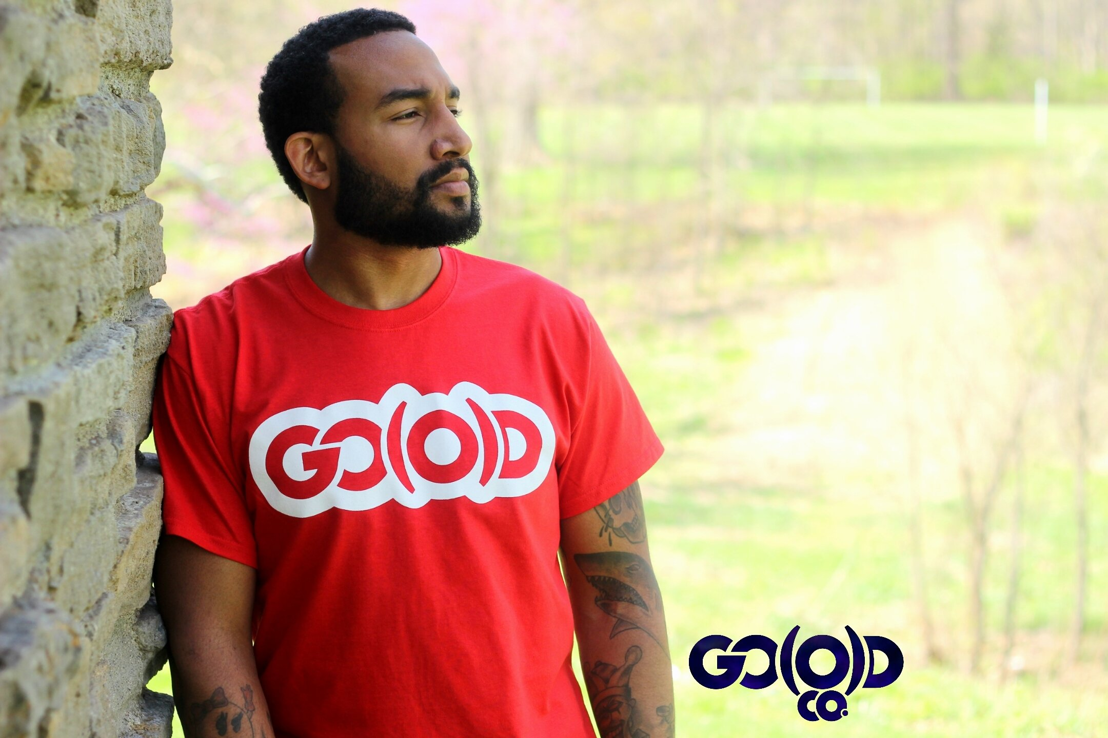 GO(O)D Classic tee-red 00111