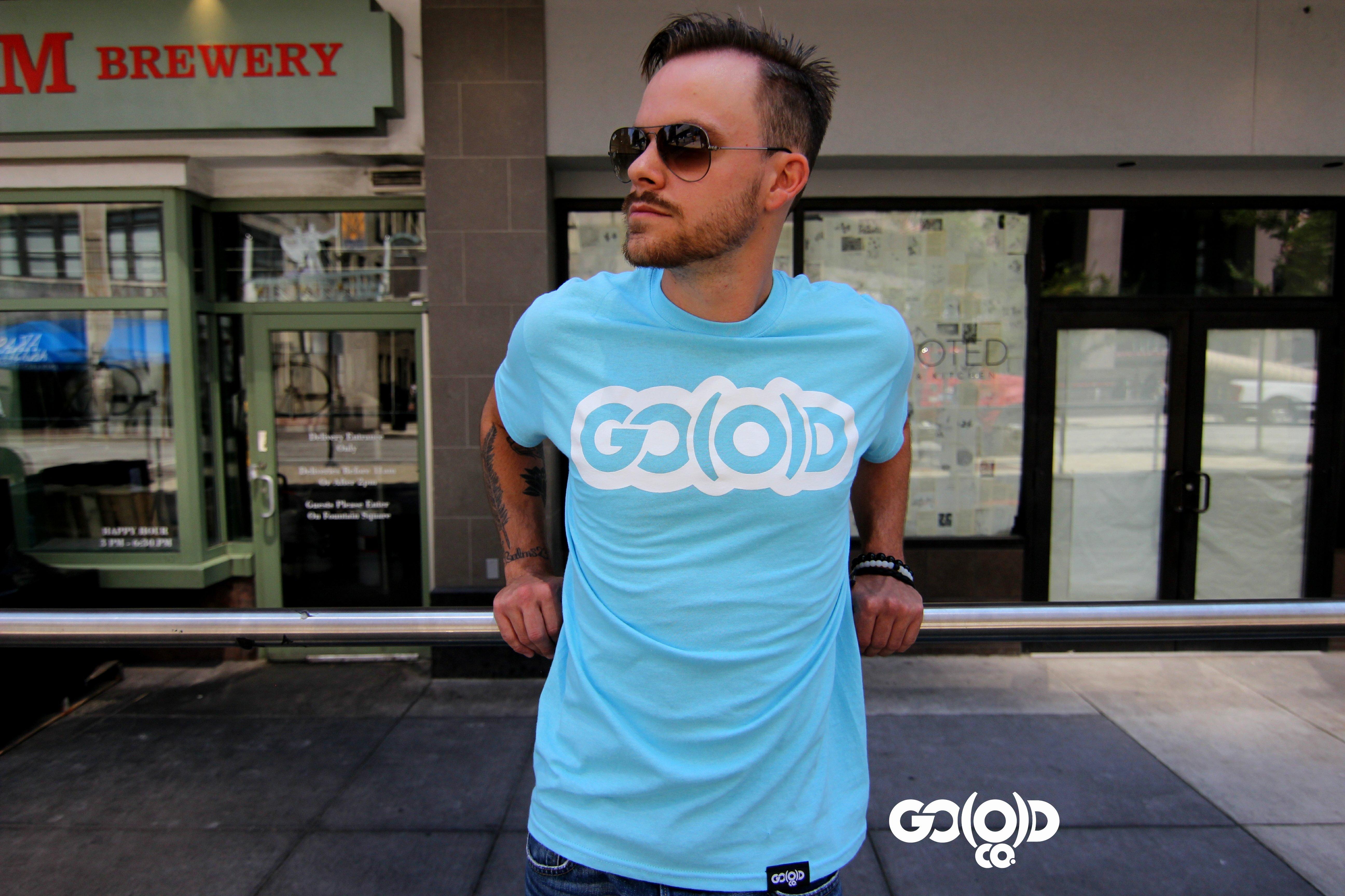 GO(O)D Classic tee-sky blue 00125