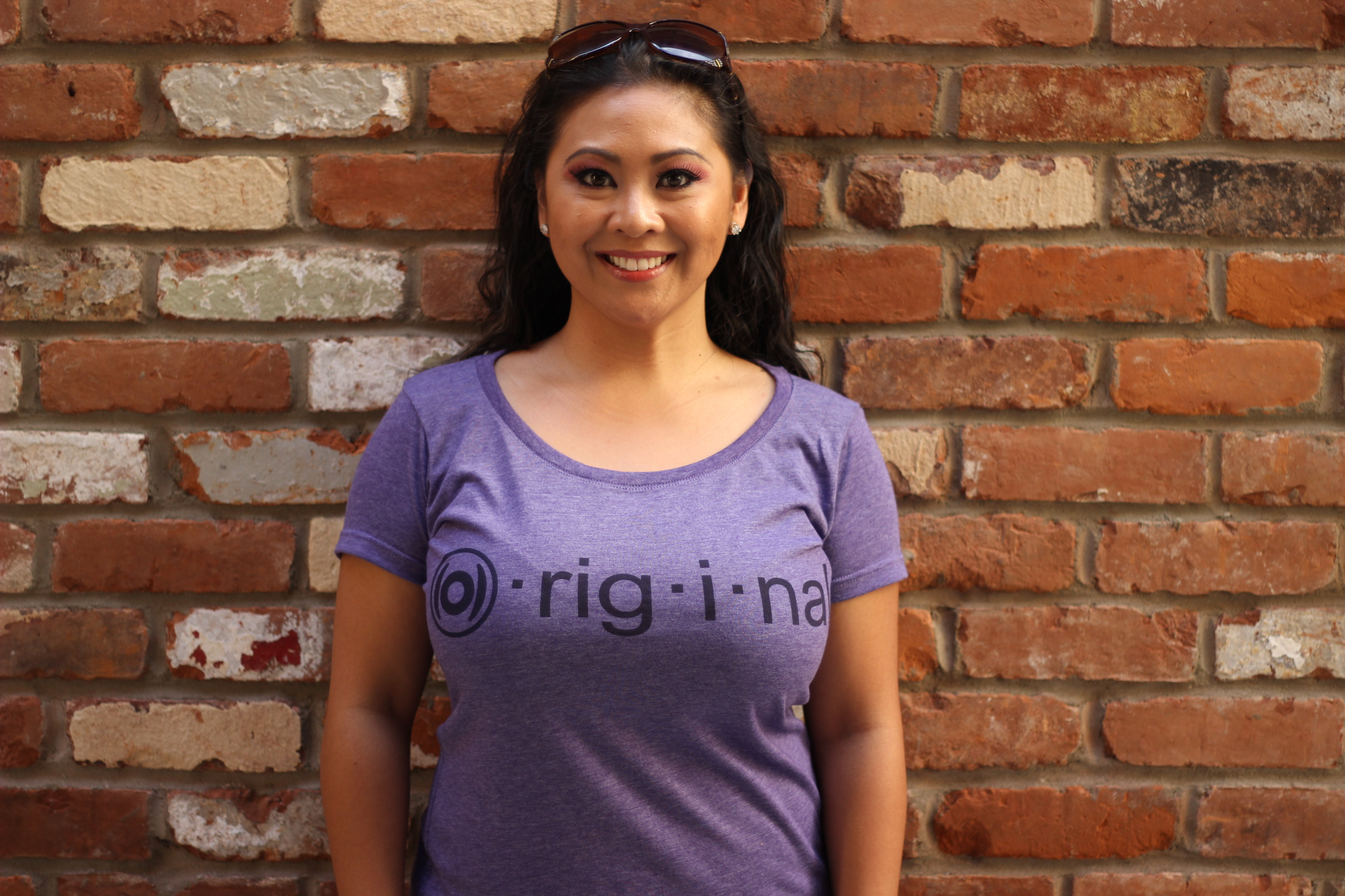 Women's (O)riginal tee-Heather Purple 00138