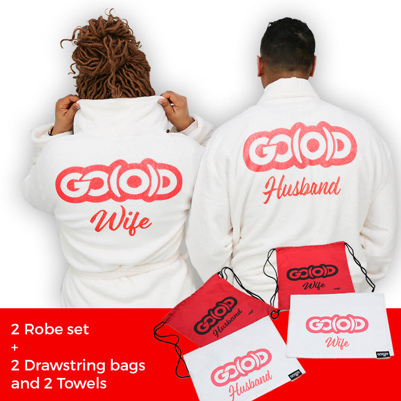 PLUSH GO(O)D Robe Set + Bags and Towels 00146