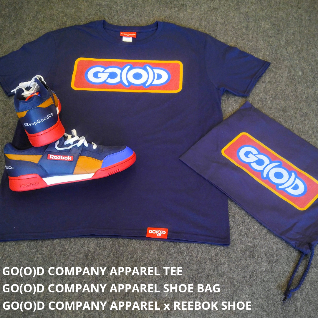 **SOLD OUT IN 33 HOURS!!** GO(O)D Company Apparel x Reebok Package *FREE SHIPPING 00160