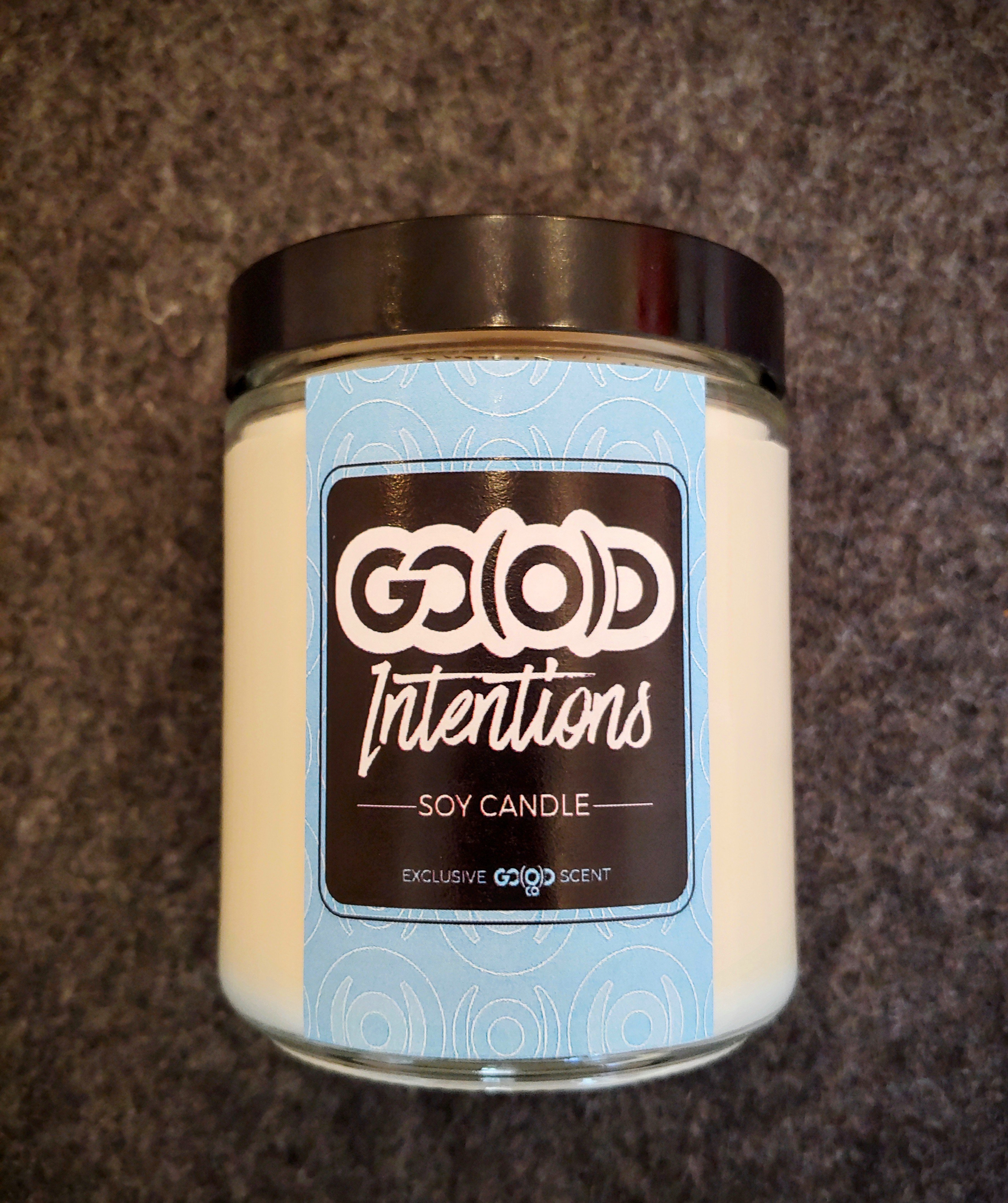 GO(O)D Intentions-8 ounce soy candle 00162