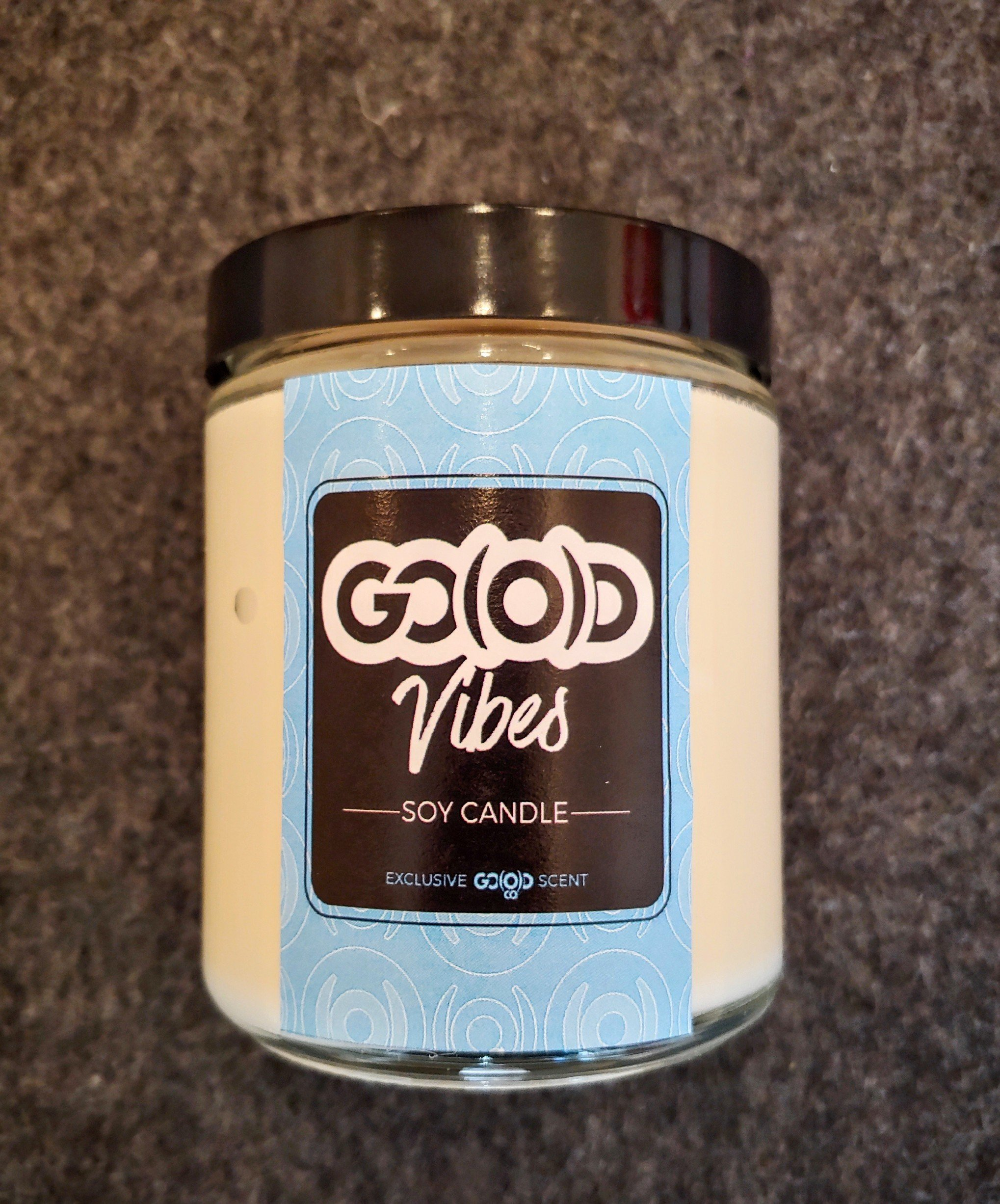 *SOLD OUT* GO(O)D Vibes-8 ounce soy candle 00163