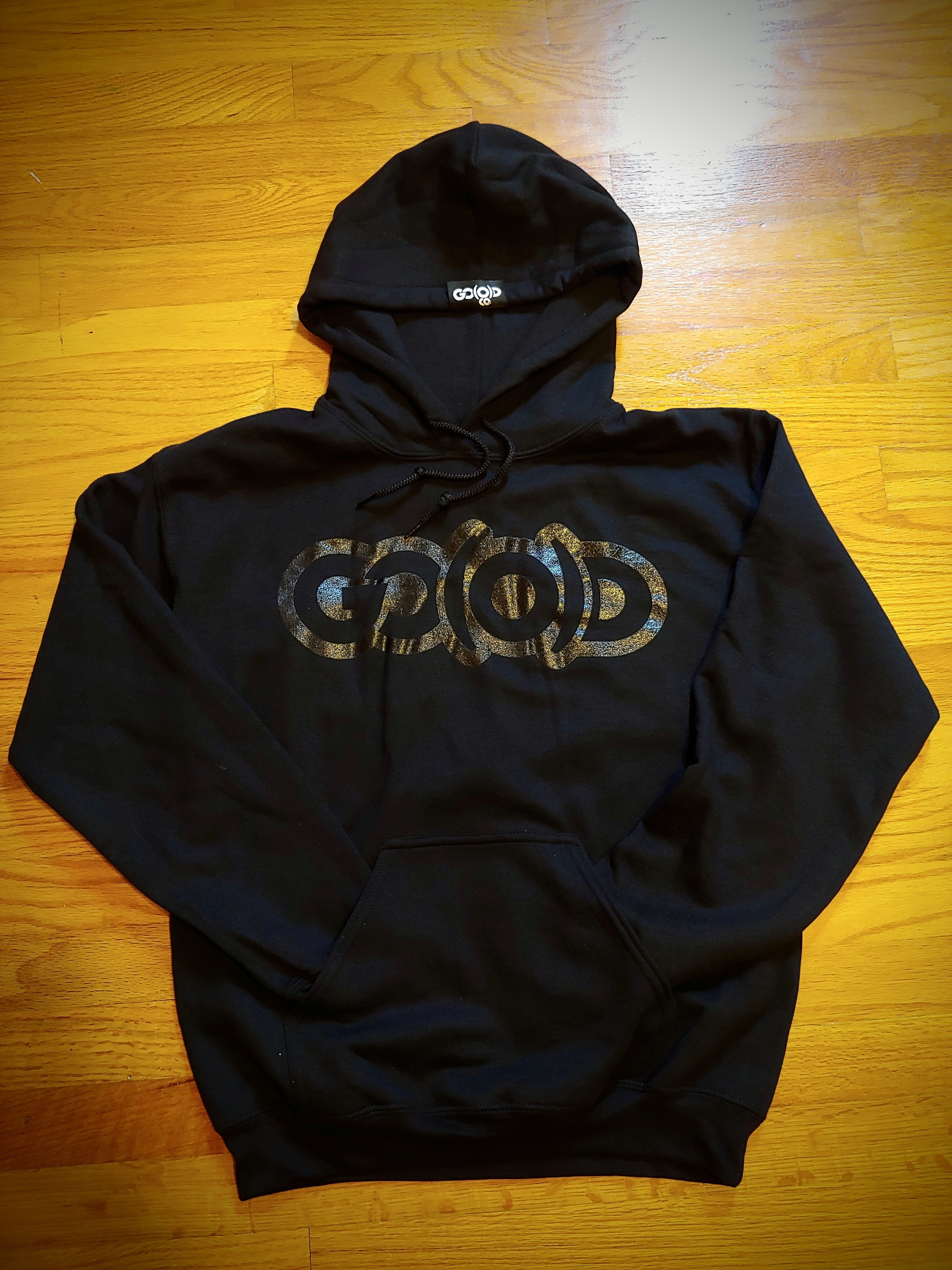 GO(O)D Hoodie-black/black 00014
