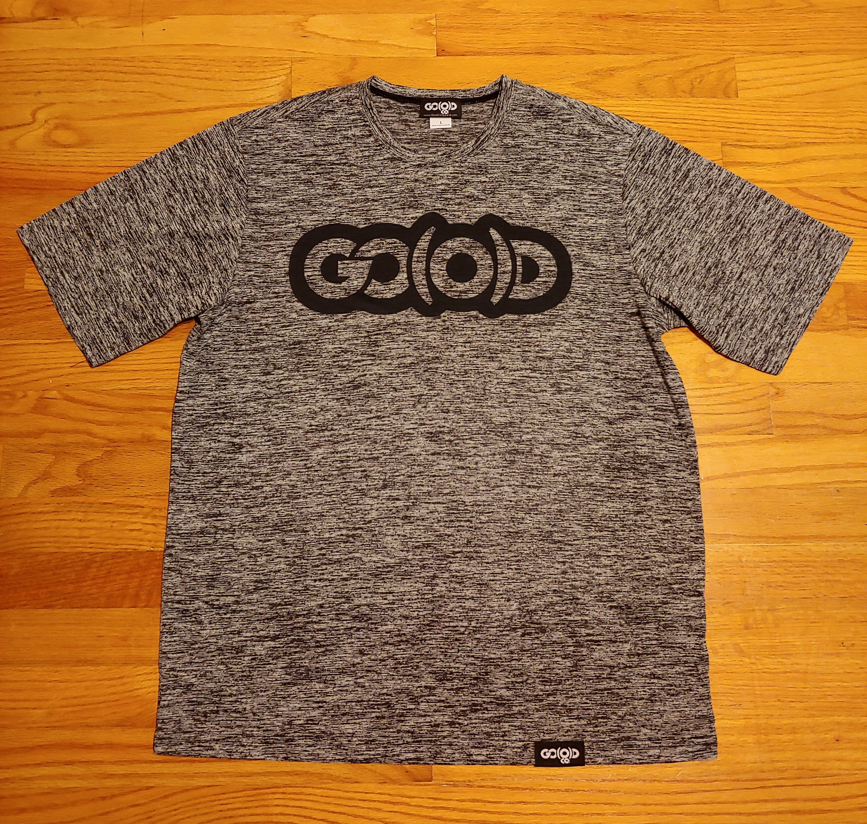 Men's GO(O)D Dual Logo tee-black 00171