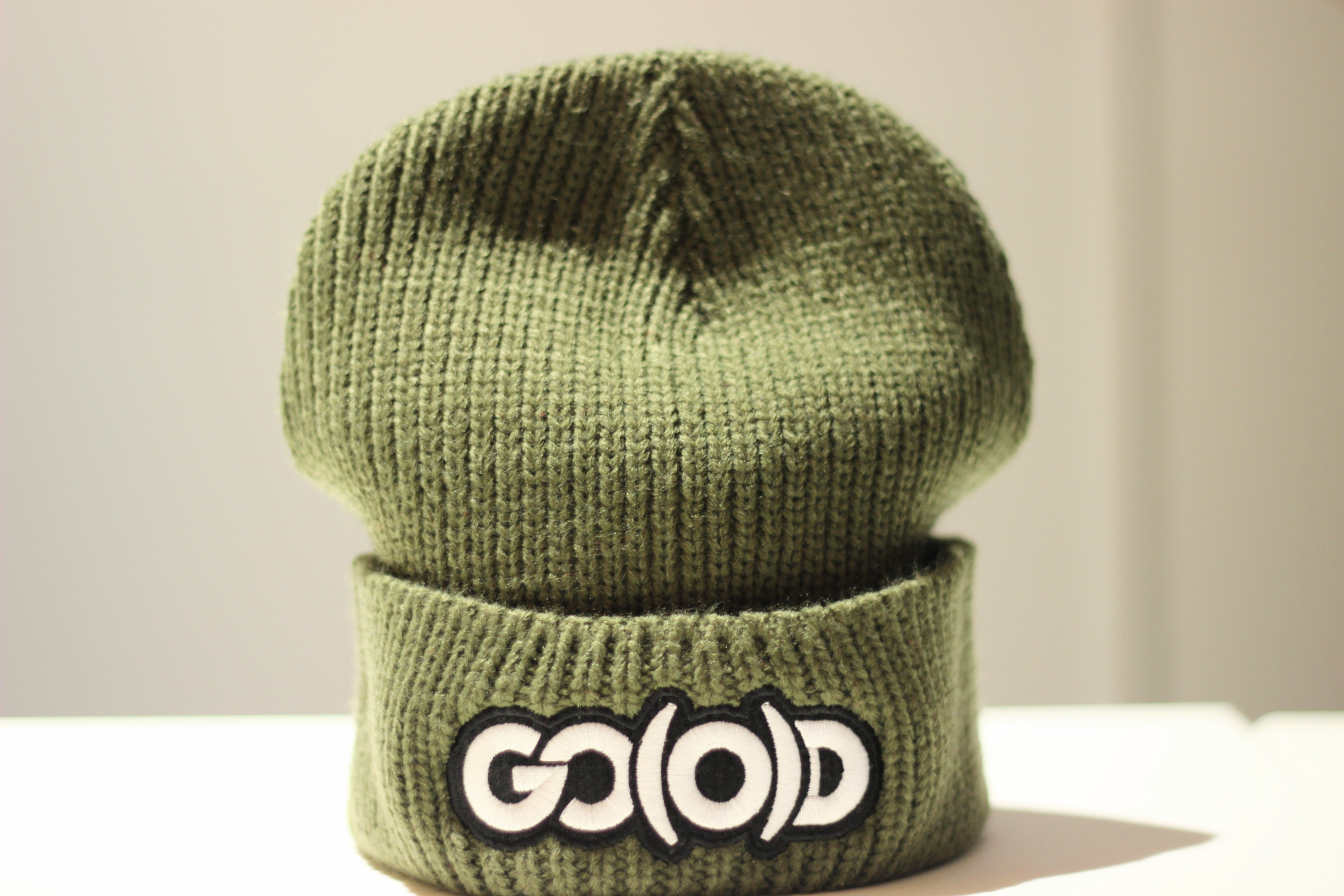 GO(O)D Heavyweight Beanie-military green 00183