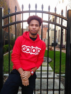 GO(O)D Hoodie-red
