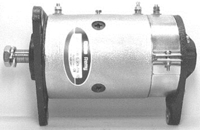 Dynastarter / Rot venstre - 0,6 kw / 12 volt / 11 Ampere