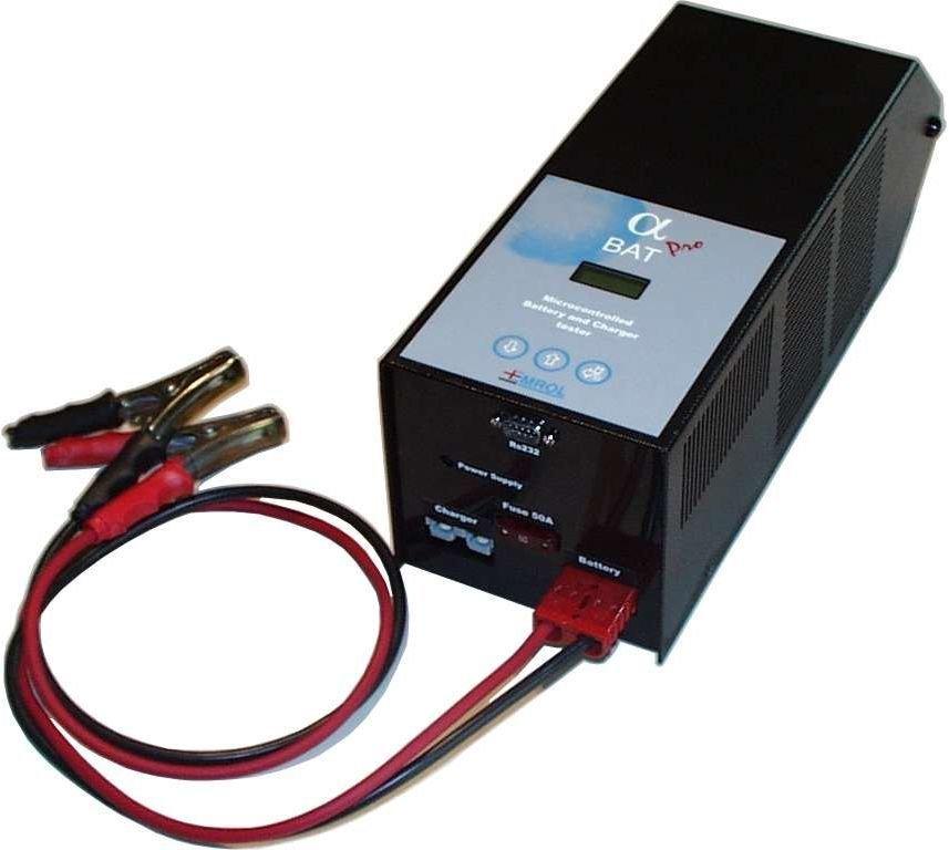 ALFABAT Batteritester / Kapasitetstester Proff Elektronisk 6V / 8V/ 12V