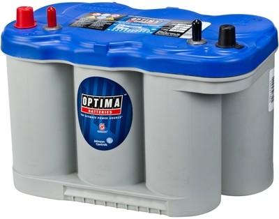 OPTIMA AGM Blue Top 12V 66AH 845CCA (309x172x221mm) +venstre 8027-227